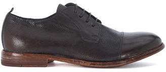 Moma Brown Leather Lace Up