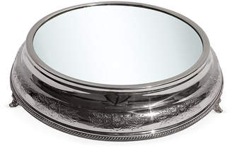 Corbell Silver Company Inc. Silver-Plated Embossed Plateau