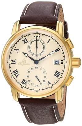 Burgmeister Men's Chronograph Quartz Watch with Leather Strap BM334-295