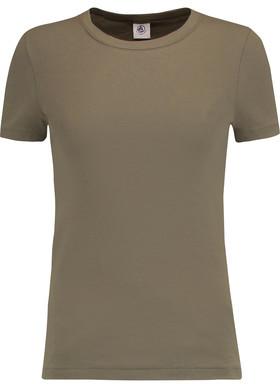 Petit Bateau Cotton-Jersey T-Shirt $37 thestylecure.com