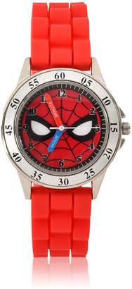 Marvel Spiderman Unisex Adult Red Strap Watch-Spd9040jc