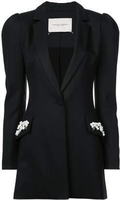 Carolina Herrera embellished pocket jacket