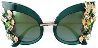 Dolce & Gabbana Eyewear embellished sunglasses