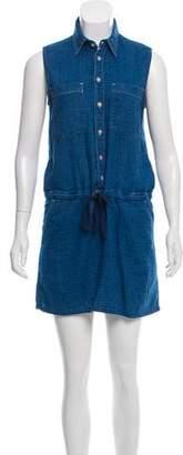 Mother Sleeveless Shirt Dress