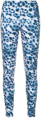 Koché leopard print leggings