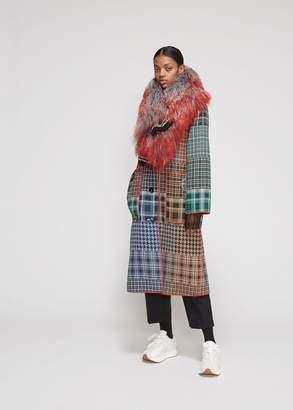 Marni Patchwork Tweed Coat