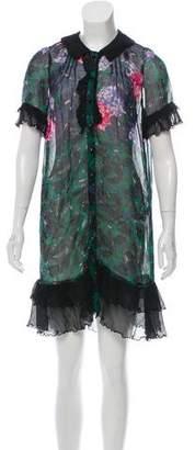 Anna Sui Silk Sheer Dress