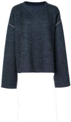 MM6 MAISON MARGIELA textured knit sweater
