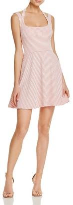 AQUA Solid Strappy Dress - 100% Exclusive $78 thestylecure.com