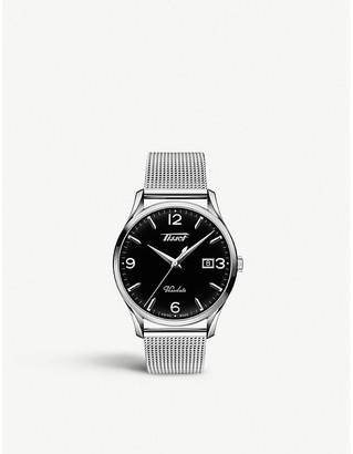 Tissot T118.410.11.057.00 Heritage Visodate stainless steel watch