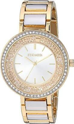 Steve Madden Women's Quartz Metal and Alloy Watch