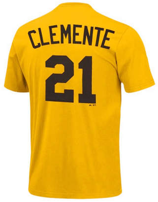Majestic Men Pittsburgh Pirates Cooperstown Player Roberto Clemente T-Shirt