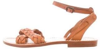 Steven Alan Leather Ankle Strap Sandals