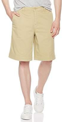 Co Quality Durables Men's Wide Leg Flat Front Short