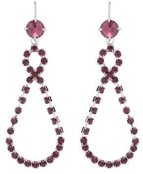 Miu Miu Crystal-embellished earrings