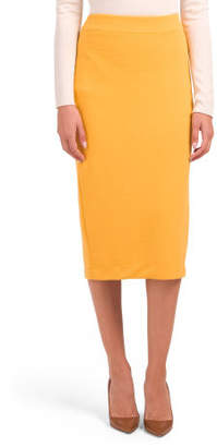Fully Lined Skirt With Back Vent