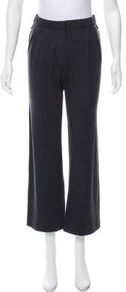 Lanvin Mid-Rise Straight-Leg Pants