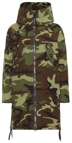 Olympia camouflage down parka
