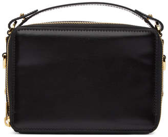 Sophie Hulme Black Mini Trunk Bag