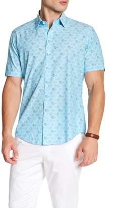 Zachary Prell Floral Short Sleeve Shirt