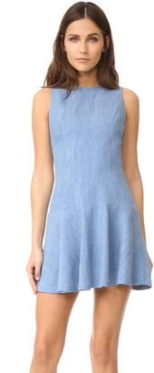 alice + olivia Elida Drop Waist Sleeveless Dress $225 thestylecure.com