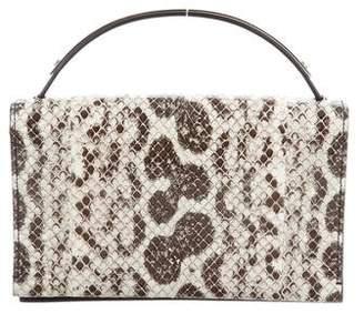 Reed Krakoff Snakeskin Top Handle Bag