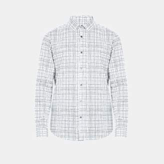 Theory Cross Print Standard-Fit Shirt
