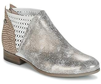 dkode ALIZE women's Mid Boots in Silver