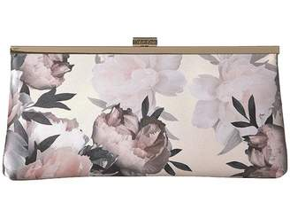 Calvin Klein Evening Pastel Floral Clutch Clutch Handbags
