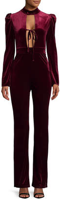 MACKINTOSH Millie Velvet Jumpsuit