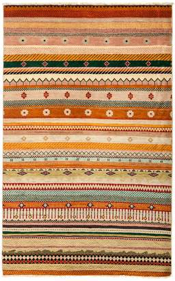 Solo Rugs Tribal Oriental Area Rug, 4'1 x 6'6