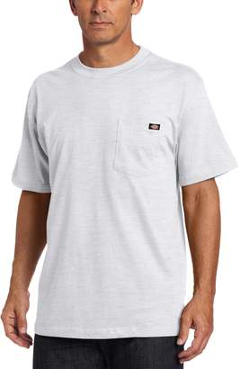 Dickies Men's Short-Sleeve Pocket T-Shirt Ash Gray 2X