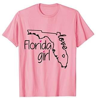 Florida Girl Tshirt I Love Florida Home Tee Florida Gift