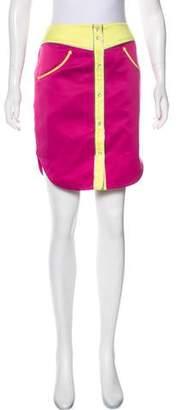 Jeremy Scott Tassel-Trimmed Mini Skirt