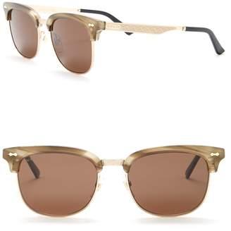 Gucci 52mm Clubmaster Sunglasses
