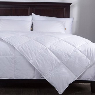 Pure Down Puredown Lightweight Down Comforter Duvet Insert 100% Cotton 550 Fill Power, Full/Queen Size, White