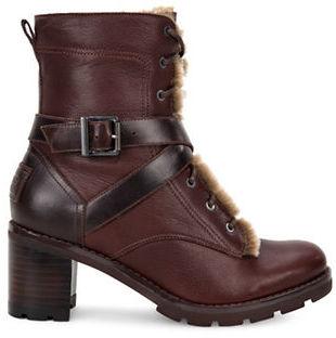 UGGUgg Ingrid Lace-Up Block-Heel Boots