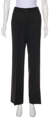 Etro Mid-Rise Striped Pants Grey Mid-Rise Striped Pants