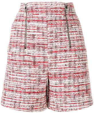 Karl Lagerfeld Captain bouclé shorts