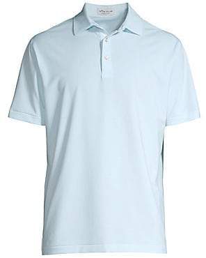 Peter Millar Men's Crown Sport Regular-Fit Halford Striped Polo