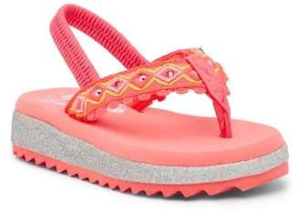 Skechers Twinkle Shine Light-Up Flip Flop (Toddler)