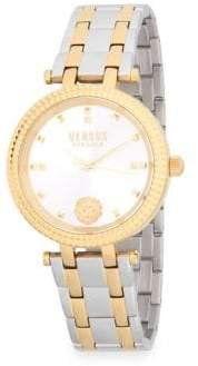 Versace Posh Two-Tone Bracelet Watch