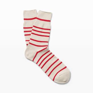 Club Monaco Anonymous Ism Buff Stripe Sock