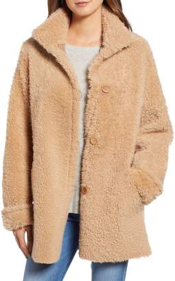 Blue Duck Reversible Genuine Shearling Topper Jacket