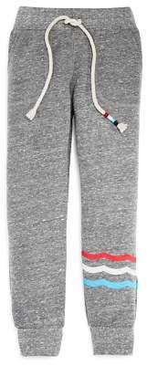 Sol Angeles Boys' Wave-Print Terry Jogger Pants - Little Kid