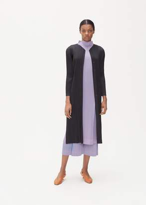 Pleats Please Issey Miyake Monthly Colors Long Jacket