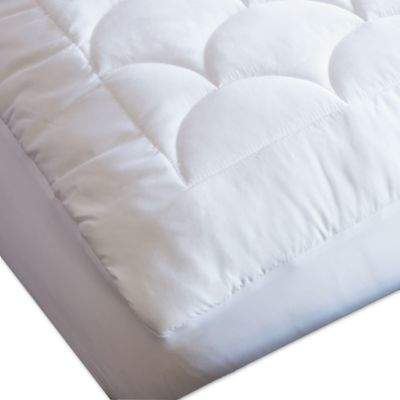 Nikki Chu LAMIS Water Resistant Twin Mattress Pad in White