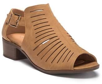 Top Moda Jerry Cutout Sandal