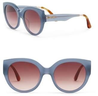 Toms Women's Luisa 54mm Denim Blue Sunglasses