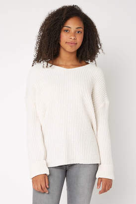 RD Style Knot Back Chenille Pullover